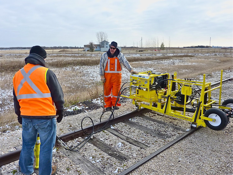 Rail Track Work