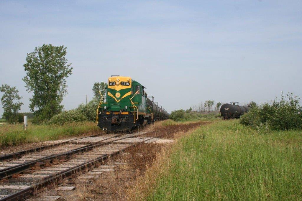 Engine 4138 Railcar Storage