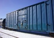 Rail Box Car Storage